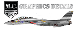 M.C. Graphic Decals